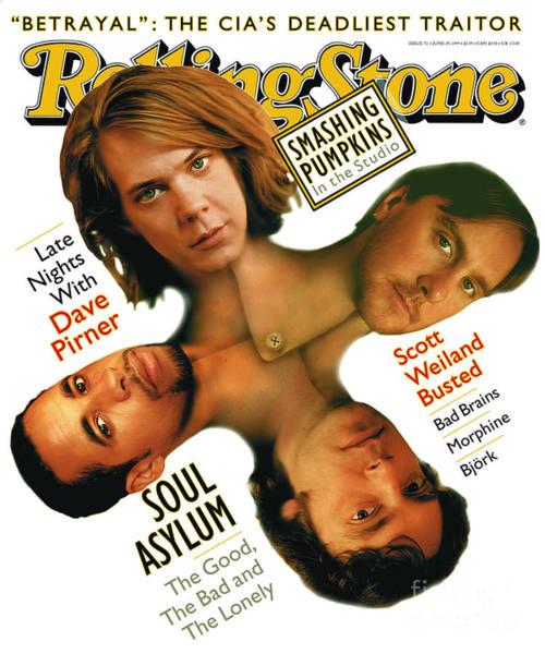 Soul Wall Art - Photograph - Rolling Stone Cover - Volume #711 - 6/29/1995 - Soul Asylum by Matt Mahurin