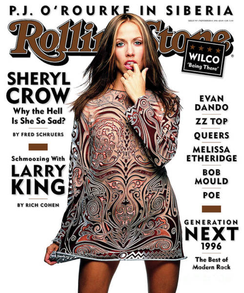 Wall Art - Photograph - Rolling Stone Cover - Volume #747 - 11/14/1996 - Sheryl Crow by Mark Seliger