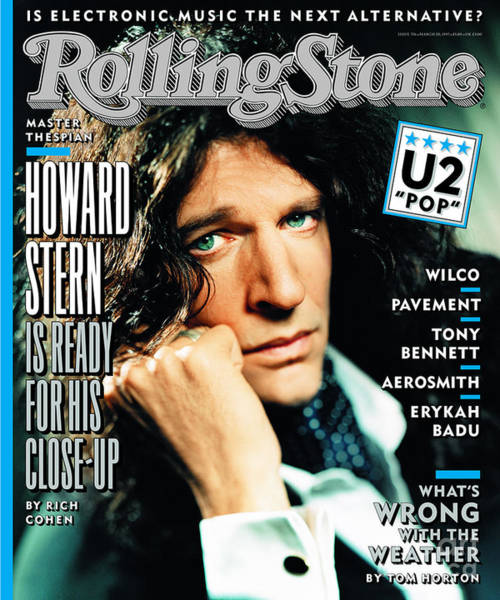 Wall Art - Photograph - Rolling Stone Cover - Volume #756 - 3/20/1997 - Howard Stern by Mark Seliger