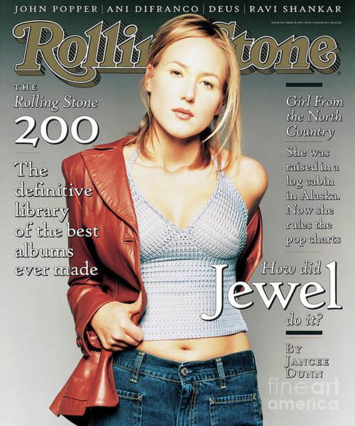 Jewels Wall Art - Photograph - Rolling Stone Cover - Volume #760 - 5/15/1997 - Jewel by Matthew Rolston