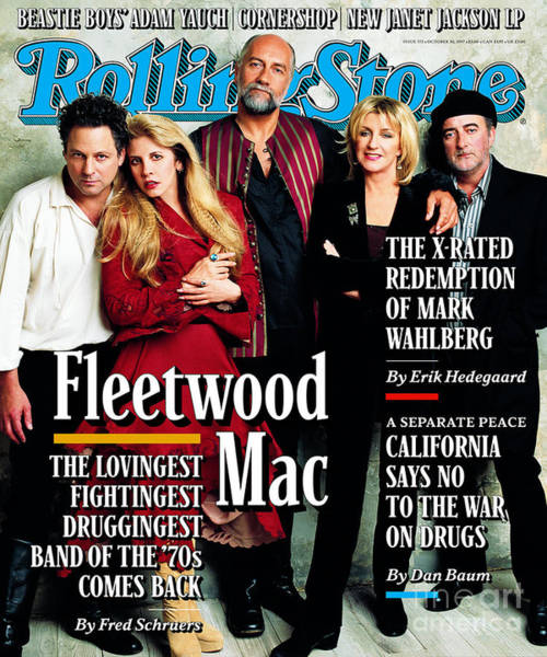 Wall Art - Photograph - Rolling Stone Cover - Volume #772 - 10/30/1997 - Fleetwood Mac by Mark Seliger