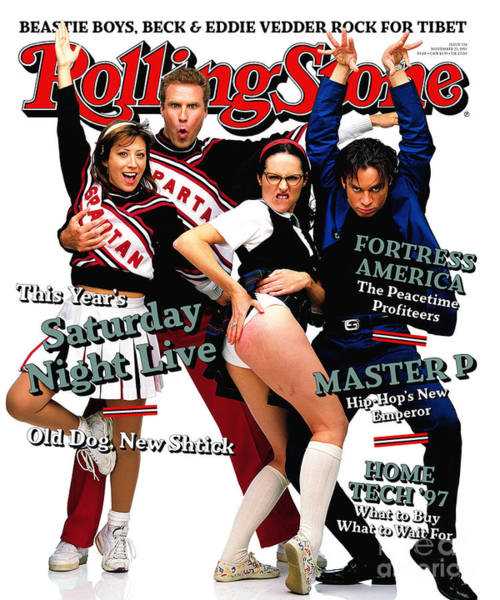 Cast Photograph - Rolling Stone Cover - Volume #774 - 12/11/1997 - Cast Of Saturday Night Live by Mark Seliger