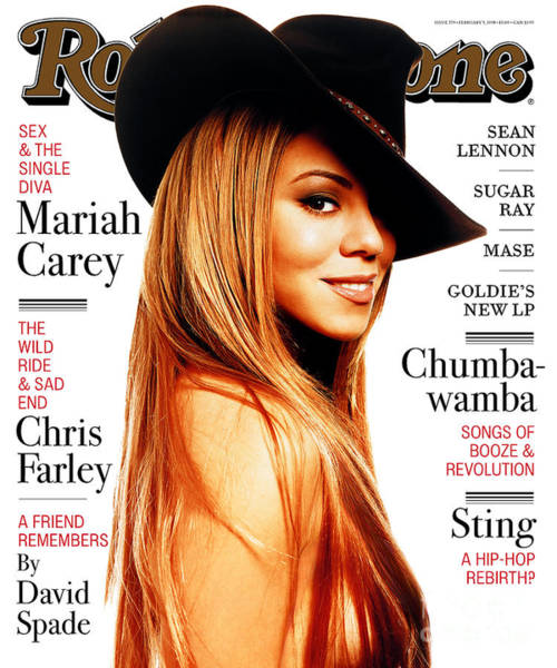 Wall Art - Photograph - Rolling Stone Cover - Volume #779 - 2/5/1998 - Mariah Carey by Albert Watson