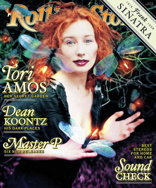 Wall Art - Photograph - Rolling Stone Cover - Volume #789 - 6/25/1998 - Tori Amos by David LaChapelle