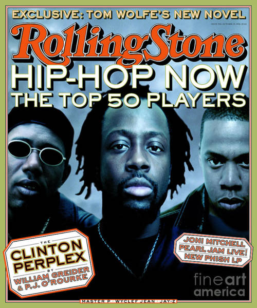 Hop Photograph - Rolling Stone Cover - Volume #798 - 10/29/1998 - Hip Hop Now by Matt Mahurin