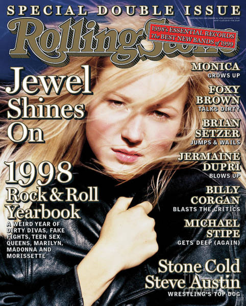 Jewels Wall Art - Photograph - Rolling Stone Cover - Volume #802 - 12/24/1998 - Jewel by David LaChapelle