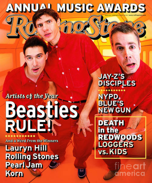 Boy Photograph - Rolling Stone Cover - Volume #804 - 1/21/1999 - Beastie Boys by Mark Seliger