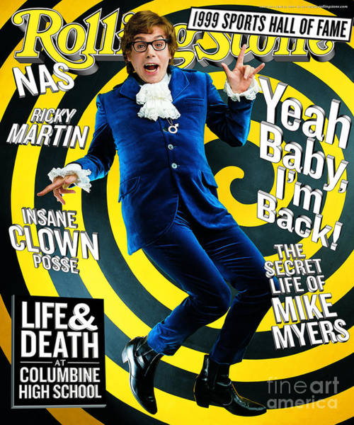 Mike Photograph - Rolling Stone Cover - Volume #814 - 6/10/1999 - Mike Myers by Mark Seliger