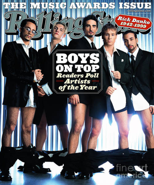 Boy Photograph - Rolling Stone Cover - Volume #832 - 1/20/2000 - Backstreet Boys by Mark Seliger
