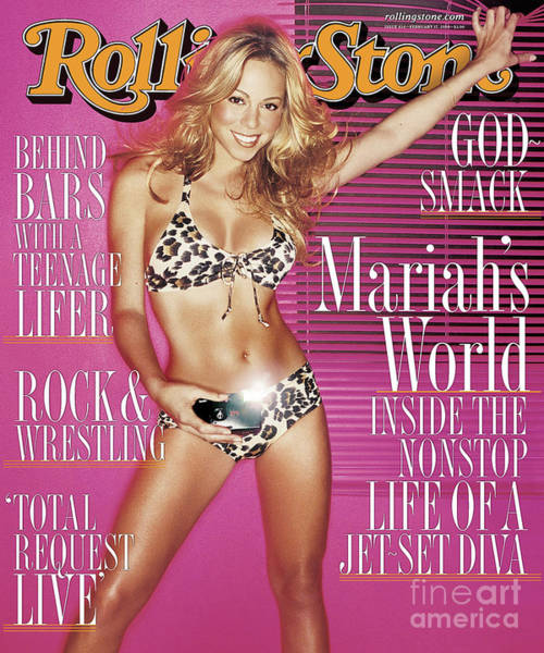Wall Art - Photograph - Rolling Stone Cover - Volume #834 - 2/17/2000 - Mariah Carey by David LaChapelle