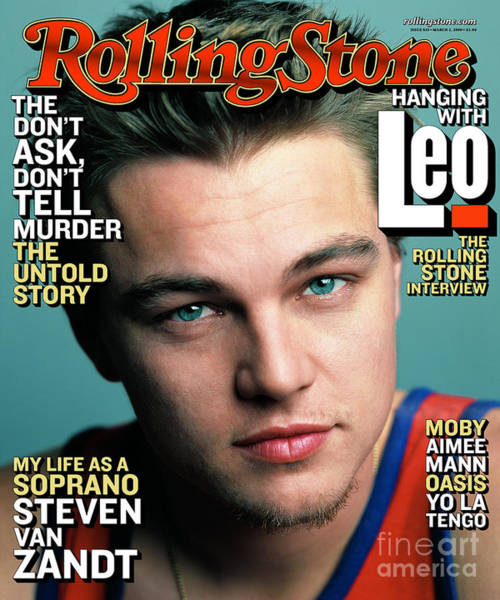 Wall Art - Photograph - Rolling Stone Cover - Volume #835 - 3/2/2000 - Leo Dicaprio by Mark Seliger