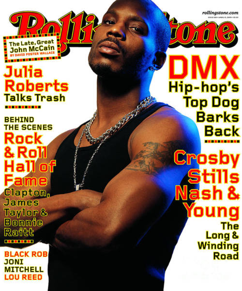 Wall Art - Photograph - Rolling Stone Cover - Volume #838 - 4/13/2000 - Dmx by Albert Watson