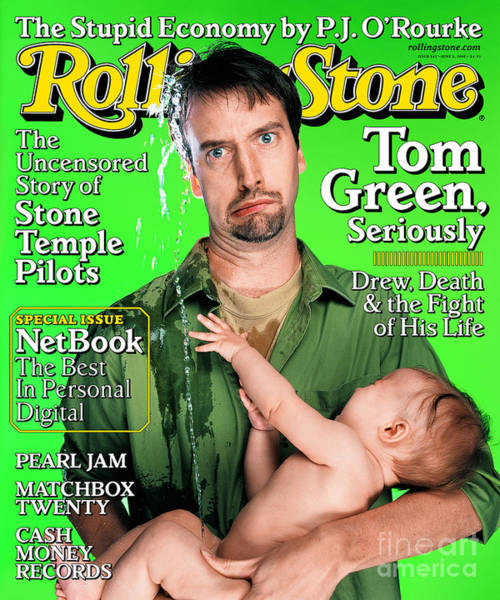 Tom Wall Art - Photograph - Rolling Stone Cover - Volume #842 - 6/8/2000 - Tom Green by Mark Seliger