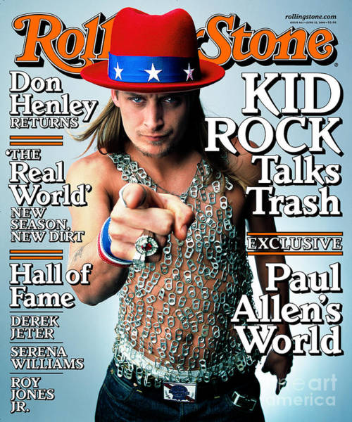 Wall Art - Photograph - Rolling Stone Cover - Volume #843 - 6/22/2000 - Kid Rock by Mark Seliger