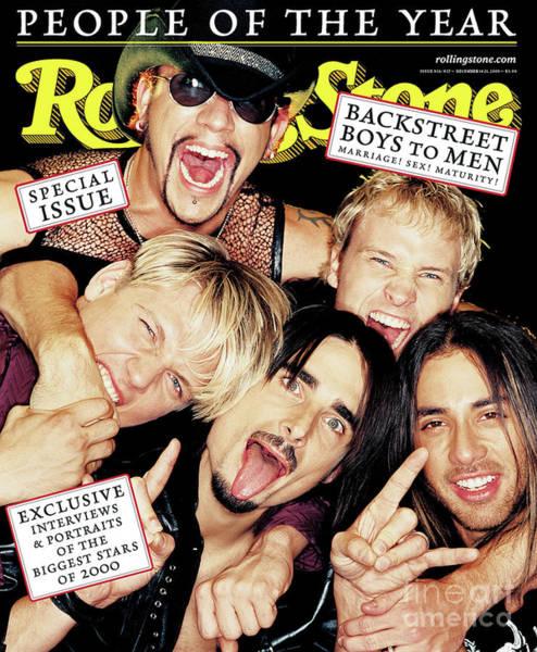 Boy Photograph - Rolling Stone Cover - Volume #856 - 12/21/2000 - Backstreet Boys by David LaChapelle