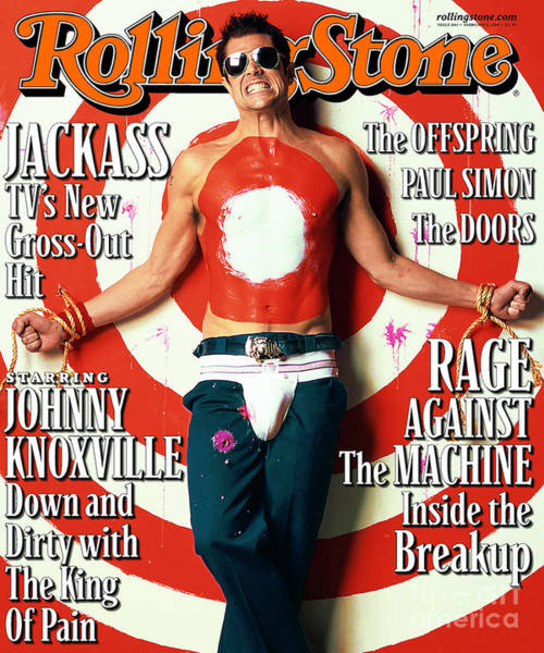 Wall Art - Photograph - Rolling Stone Cover - Volume #861 - 2/1/2001 - Johnny Knoxville by Mark Seliger