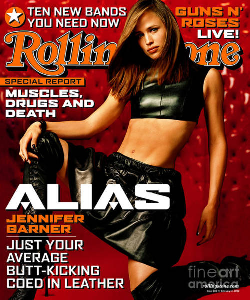 Wall Art - Photograph - Rolling Stone Cover - Volume #889 - 2/14/2002 - Jennifer Garner by Isabel Snyder