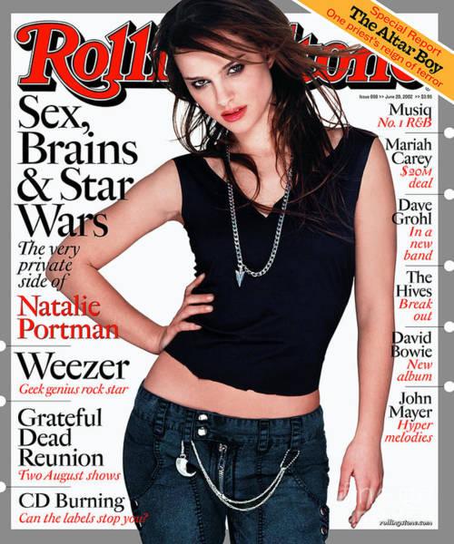 Watson Photograph - Rolling Stone Cover - Volume #898 - 6/20/2002 - Natalie Portman by Albert Watson