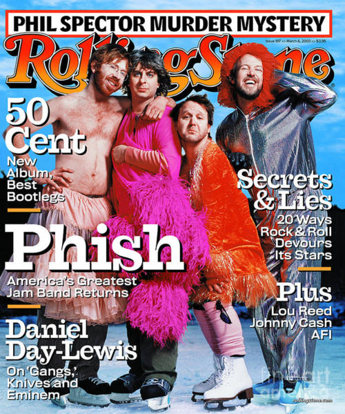 Wall Art - Photograph - Rolling Stone Cover - Volume #917 - 3/6/2003 - Phish by Martin Schoeller
