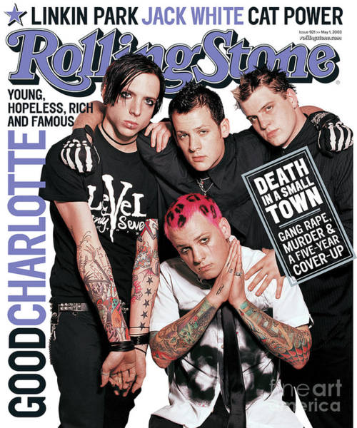 Charlotte Wall Art - Photograph - Rolling Stone Cover - Volume #921 - 5/1/2003 - Good Charlotte by David LaChapelle