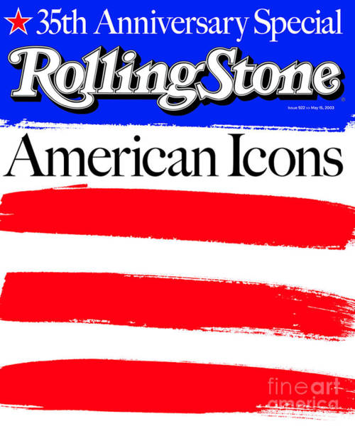 Landmarks Photograph - Rolling Stone Cover - Volume #922 - 5/15/2003 - American Icons by Andy Cowles