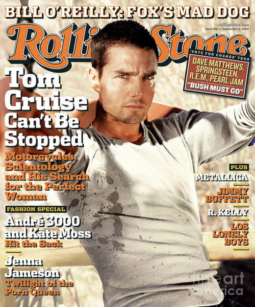 Tom Wall Art - Photograph - Rolling Stone Cover - Volume #956 - 9/2/2004 - Tom Cruise by Tony Duran