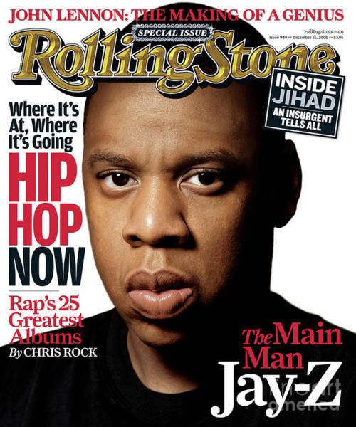 Watson Photograph - Rolling Stone Cover - Volume #989 - 12/15/2005 - Jay-z by Albert Watson