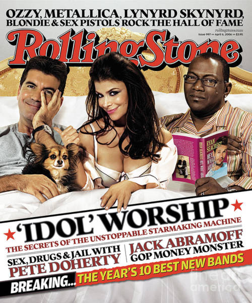 Idols Wall Art - Photograph - Rolling Stone Cover - Volume #997 - 4/6/2006 - American Idol Judges by Michael Elins
