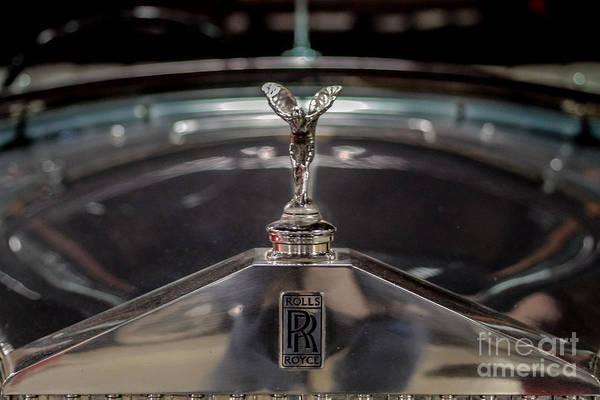 Rolls Royce Hood Ornament Photograph - Rolls Royce by Mitch Shindelbower