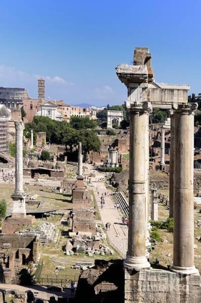 Wall Art - Photograph - Roman Forum. Rome by Bernard Jaubert