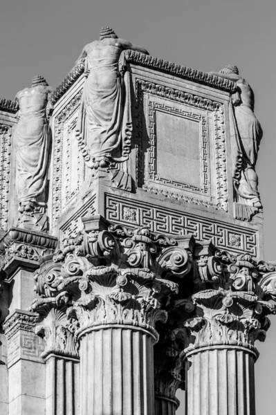 Photograph - Roman Greco Pillar by Ray Shiu