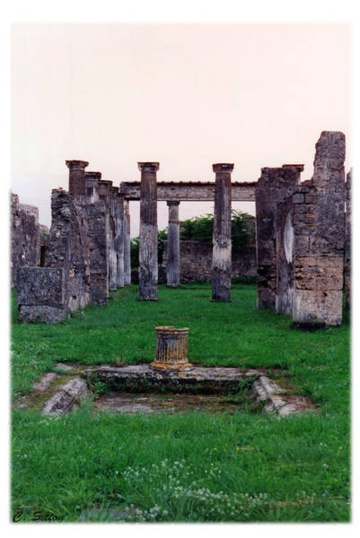 Photograph - Roman Ruins 4 by C Sitton