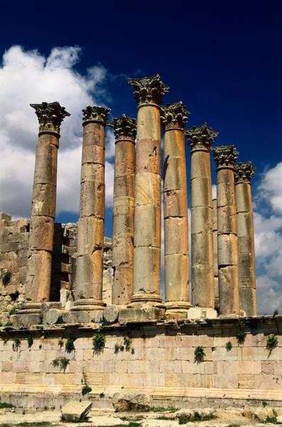 Jerash Photograph - Roman Ruins At Jerash, Jordan by Richard Nowitz