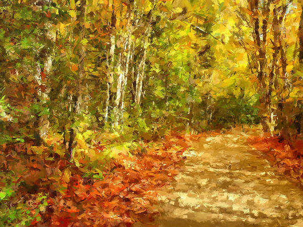 Painting - Romance In Autumn by Isabella Howard