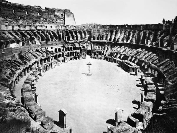Photograph - Rome: Colosseum by Granger