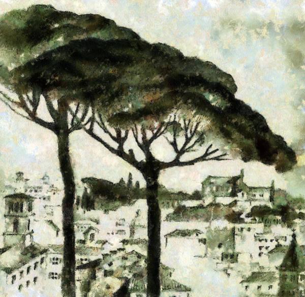 Digitalart Painting - Rome by Odon Czintos