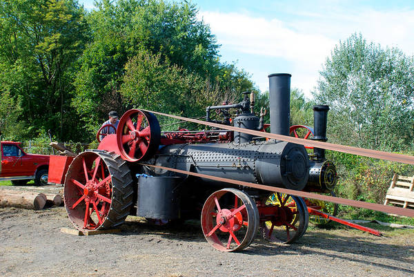 Photograph - Romley Powering The Saw by Mark Dodd