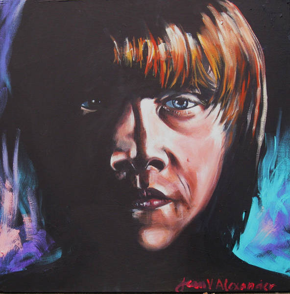 Ron Weasley Wall Art - Painting - Ron by Jean Alexander