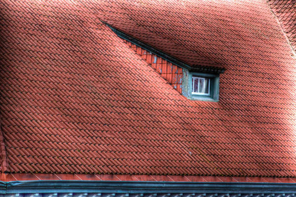 Photograph - Roof Line by Jean Noren