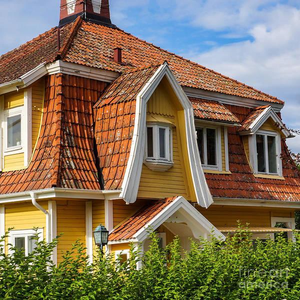 Photograph - Roof by Lutz Baar