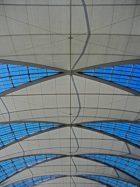 Photograph - Roof Structure ... by Juergen Weiss
