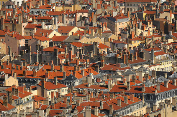 Photograph - Roofs Of Houses by Copyrights by Sigfrid López