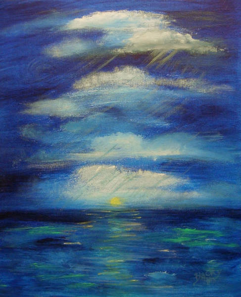 Wall Art - Painting - Room To Breathe by Donna Blackhall