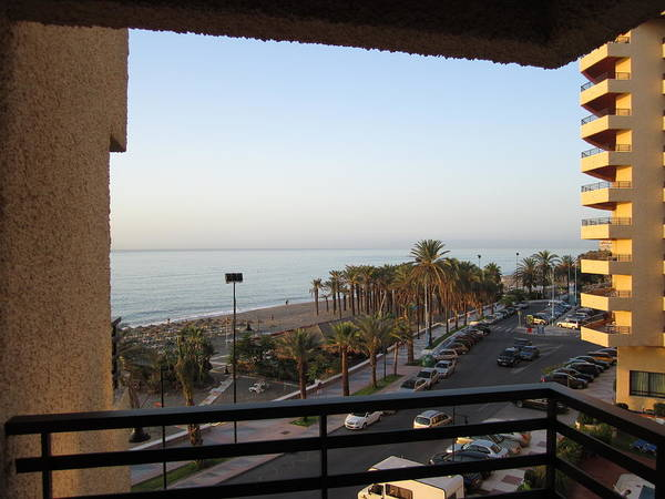 Photograph - Room With A View Costa Del Sol Beach Spain by John Shiron