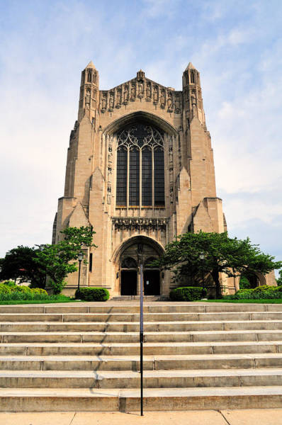 Campus Photograph - Roosevelt Memorial Chapel by Bruce Leighty