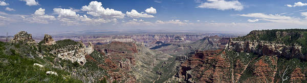 Photograph - Roosevelt Point Grand Canyon Panorama by Gary Eason