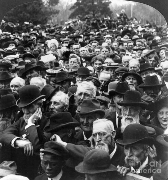 Wall Art - Photograph - Roosevelt Speech, 1903 by Granger