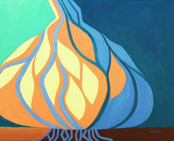 Painting - Roots 1 by Peggy Wrobleski