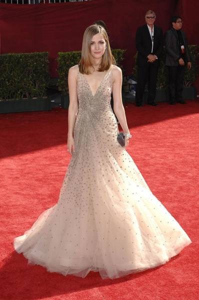 Nokia Photograph - Rose Byrne Wearing A Valentino Gown by Everett