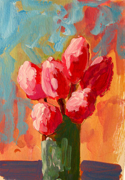 Painting - Roses Are Pink by Patricia Awapara